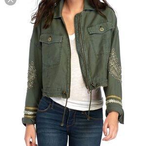 Free people cropped utility jacket